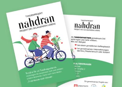 #Caritas Nahdran Flyer und Plakat