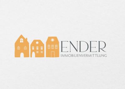 #Immobilienvermittlung Ender Corporate Design