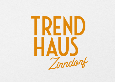 #Trendhaus Zirndorf Corporate Design
